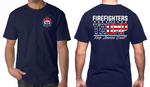Firefighters For Trump Shirt