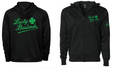 LUCKY BASTARDS Poly-Tech Hoodie.