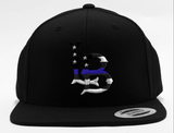 THIN BLUE LINE LONG BEACH HAT