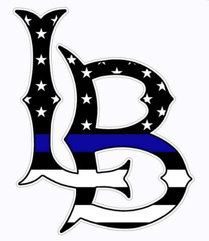 THIN BLUE LINE LB Sticker