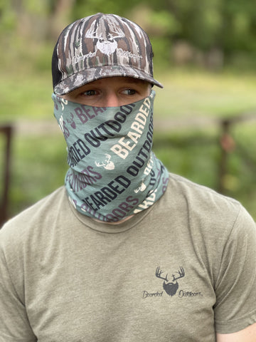 "Bearded ""Woods"" Neck Gaiter"