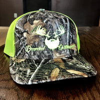 Neon Green Realtree Camo