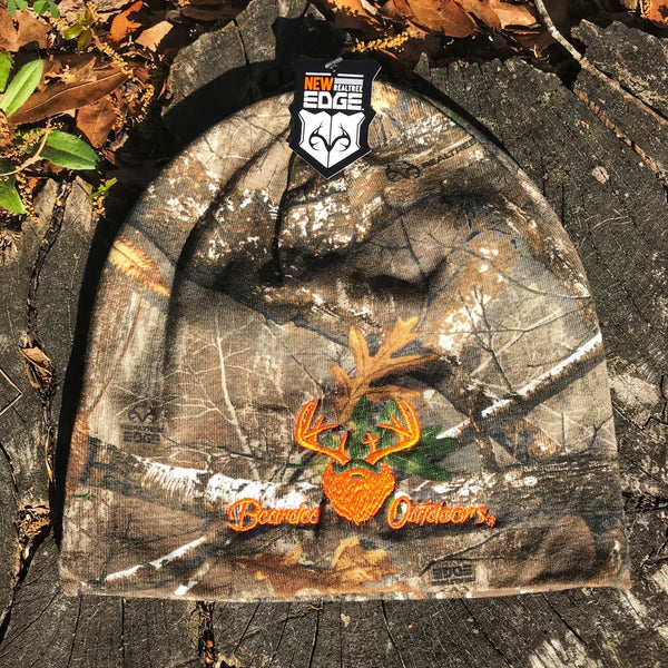 Bearded Realtree Edge Beanie