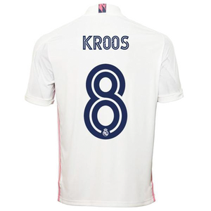 Kroos Real Madrid Home Jersey 2020/21
