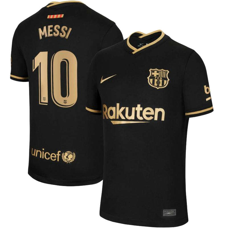 Messi - FC Barcelona Away Jersey 2020/21