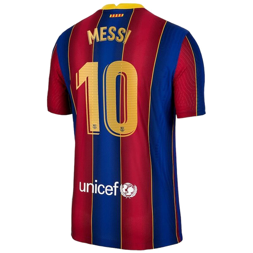 Messi - FC Barcelona Home Jersey 2020/21