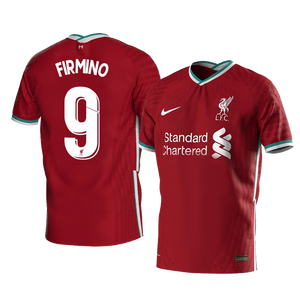 Firmino Liverpool Home Jersey 2020/21