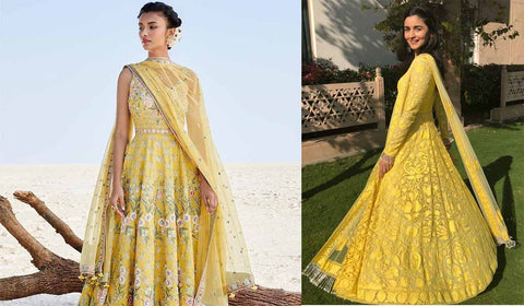 All Yellow Ethnic Wear