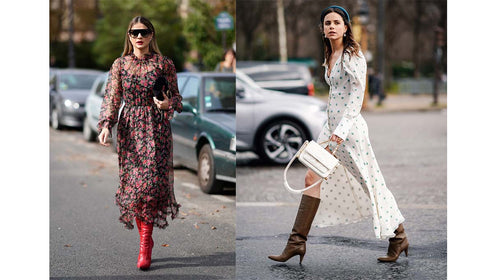Midi Dresses Winter Styling