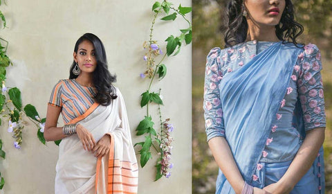 Wedding Saree Look Book 2019