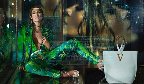 J.Lo. in Versace SS'20 Campaign