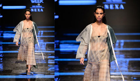Urvashi Kaur Lakme Fashion Week 2019