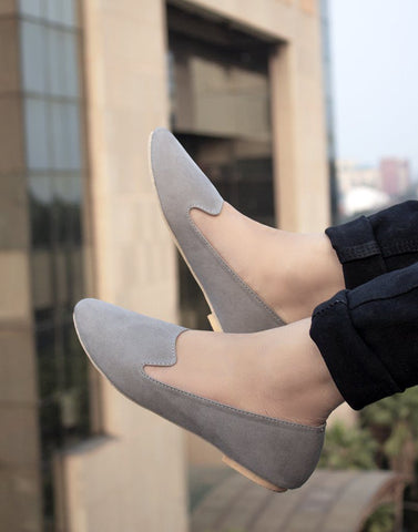 Grey Stylish Ballerina