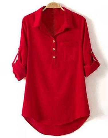 Ultracool Red Buttoned Shirt