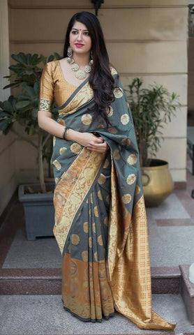 Trishulom Soft Silk Multicolored Soft Silk Printed Designer Saree