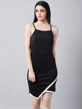Brisking Black Bodycon Dress