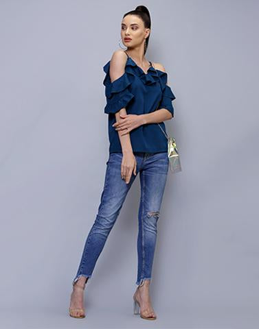 Style Me Up Blue Top