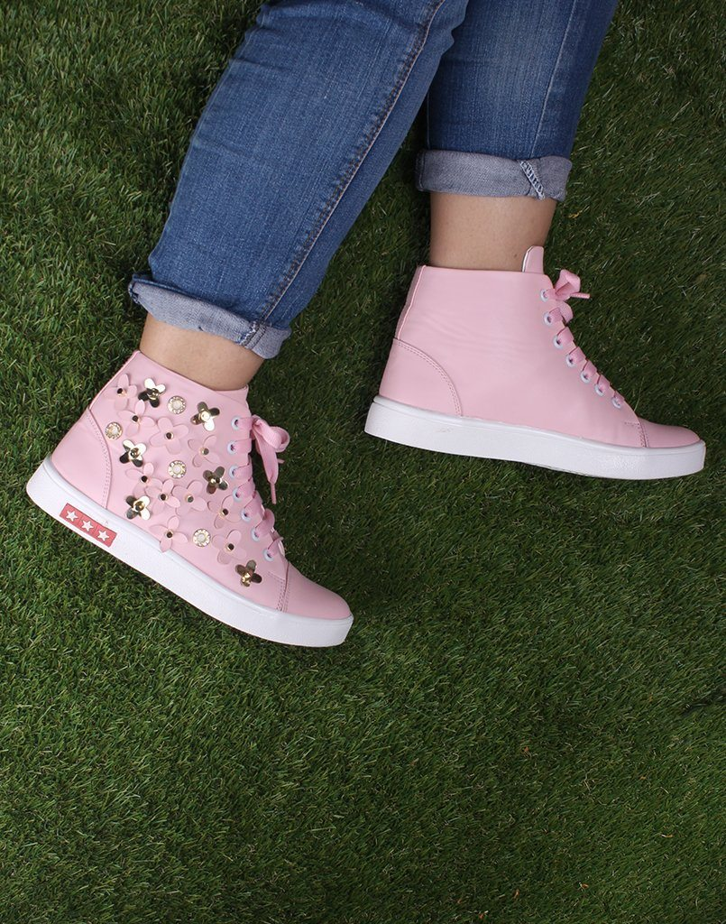 Blossom Pink Sneakers