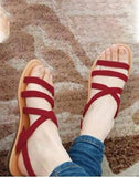 Red Multistrap Flat