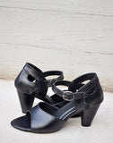 Lady Boss Black Heels