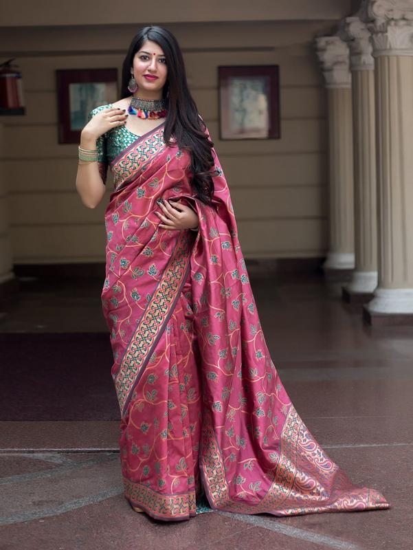 Trishulom Multicolored Soft Silk Classic Designer Saree