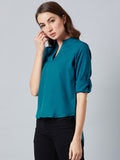 Modish Blue Top