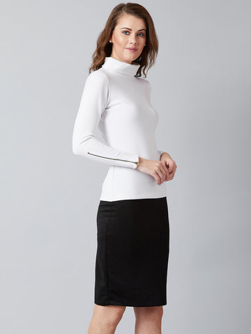 Fit That Flatters Top And Skirt Pair