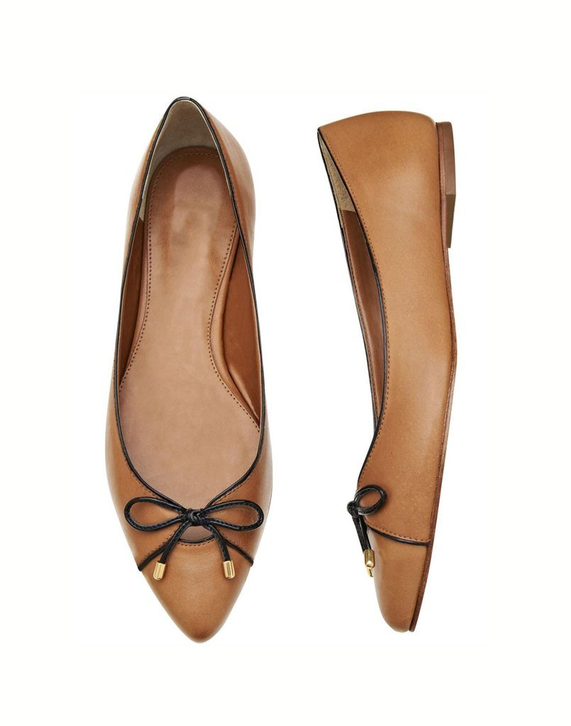 Brown Basic Flats