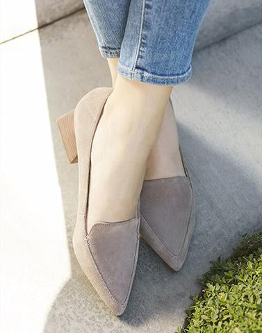 Dusty Grey Fairy Heels