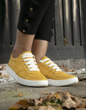Blooming Mustard Basic Sneakers