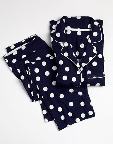 Navy Blue Good Times Sleepwear Set