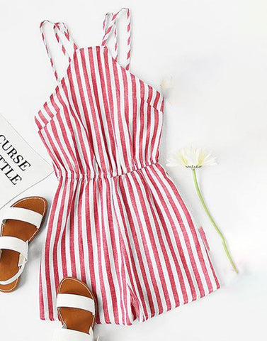 Summer Stripes Playsuit