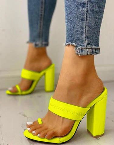 Spotlight Neon Stylish Heels