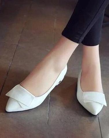 White Work In Ballerina