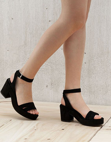 Warrior Black Heels