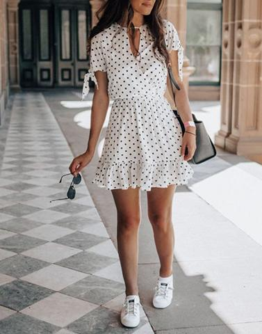 Find It In Sunshine White Dress