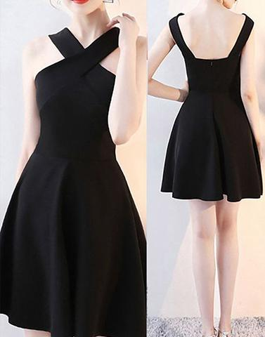 Black Fit & Flare Dress