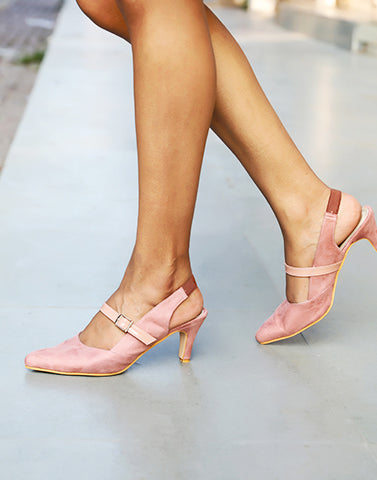 Always Posh Pink Heels