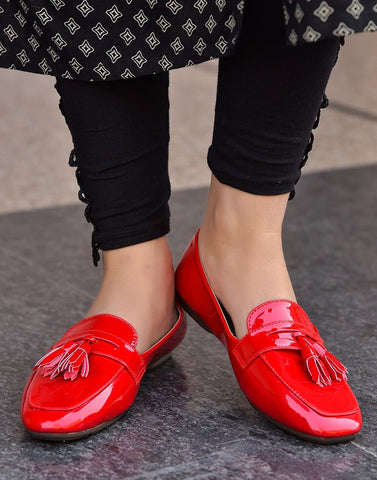 Polished Red Ballerina