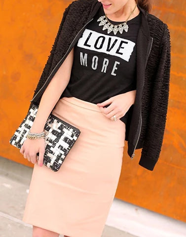 Black Love More Graphic Tee