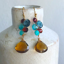 Sedona Woven Gemstone Earrings