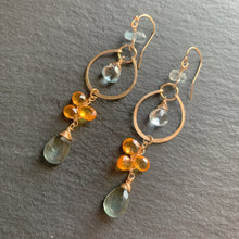 Tangerine Dreams Gold Earrings