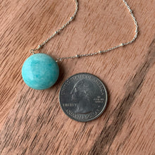 Solitaire: Amazonite on Sterling Silver