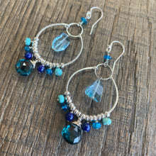 Oceana Sterling Chandelier Earrings