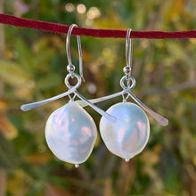 Wisdom Pearl Earrings (Sterling Silver)