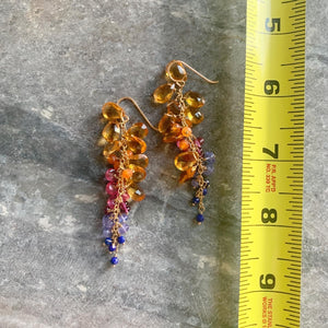 Key West Sunset Showers Earrings
