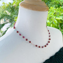 Garnet Caprice Convertible Necklace & Bracelet