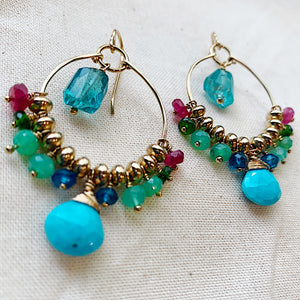 Key West Soirée Chandelier Earrings