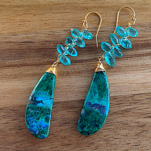 EarthSea Chrysocolla Earrings