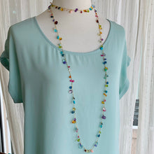 PRE-ORDER ONLY Briolette Menagerie Cable Maxi Necklace